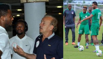 World Cup: Rohr Speaks On Dropping Onazi After Rift With Mikel