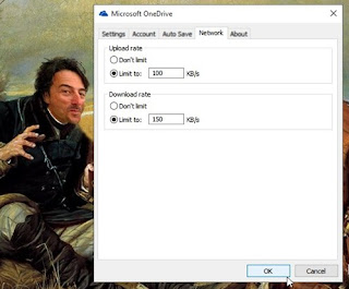 Cara Membatasi Kecepatan Download dan Upload OneDrive Folder di Windows 10