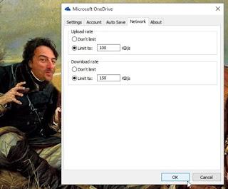 Cara Membatasi Kecepatan Download dan Upload OneDrive Folder di Windows 10