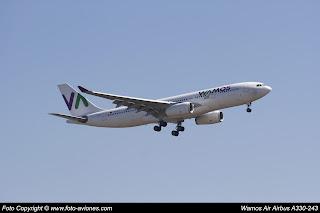 Avión Airbus A330 EC-MJS