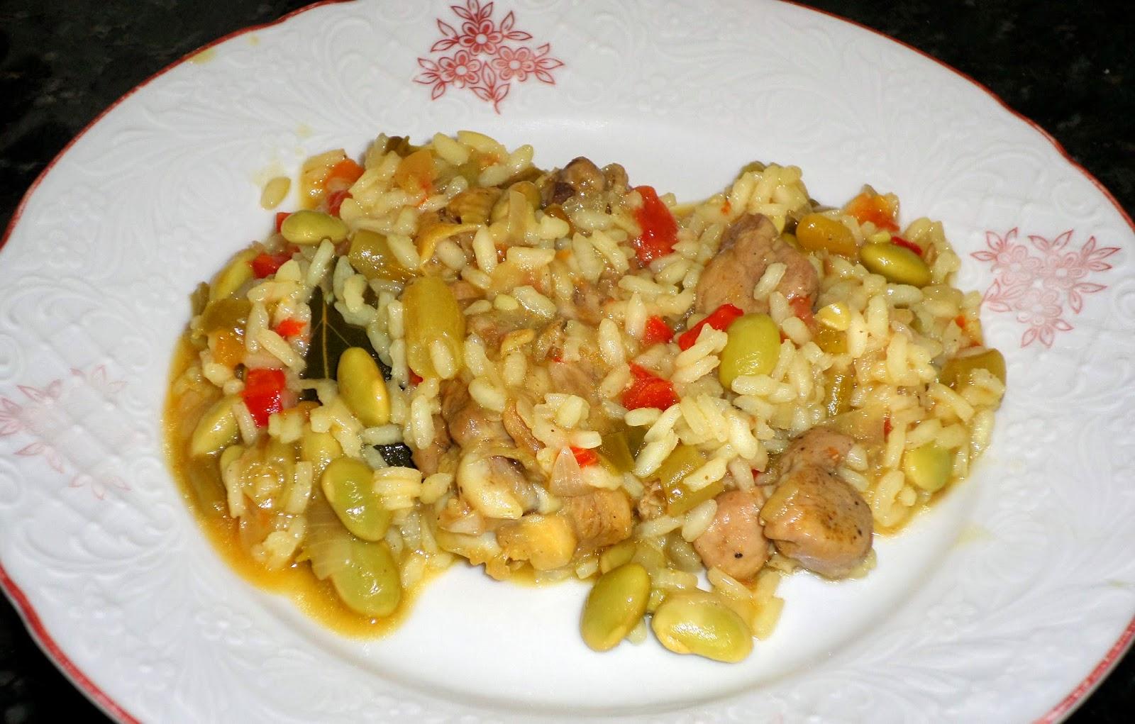 receita de paella