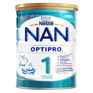 Sữa NAN 1 hộp 800gr từ 0 tháng tuổi - sữa NAN Nga xách tay chính hãng