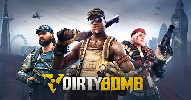 dirty bomb juego de accion