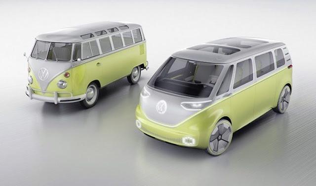 Volkswagen saca al mercado nueva combi eléctrica: I.D. BUZZ