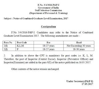 Ssc 2013 cgl notification pdf