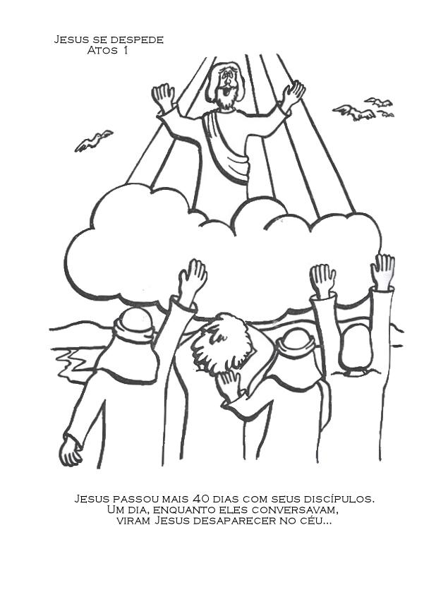 Catequizando com amor: Ascensão do Senhor Jesus- mais