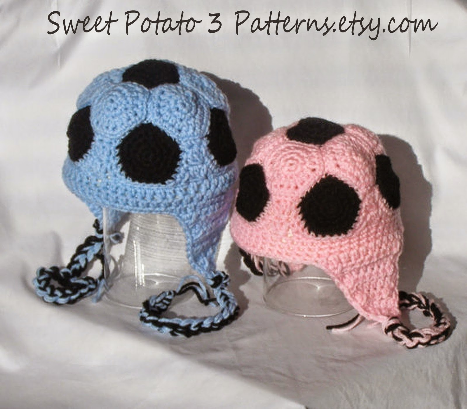 f619a1e5192 Soccer Ball Crochet Hat Pattern ~ Sweet Potato 3