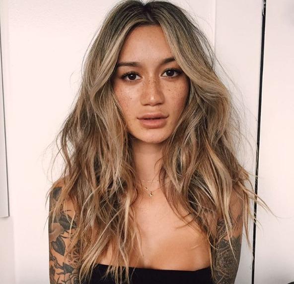vemos a la modelo de instagram @gypsyone
