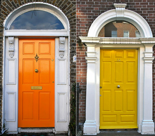 Resultado de imagem para porta de entrada colorida