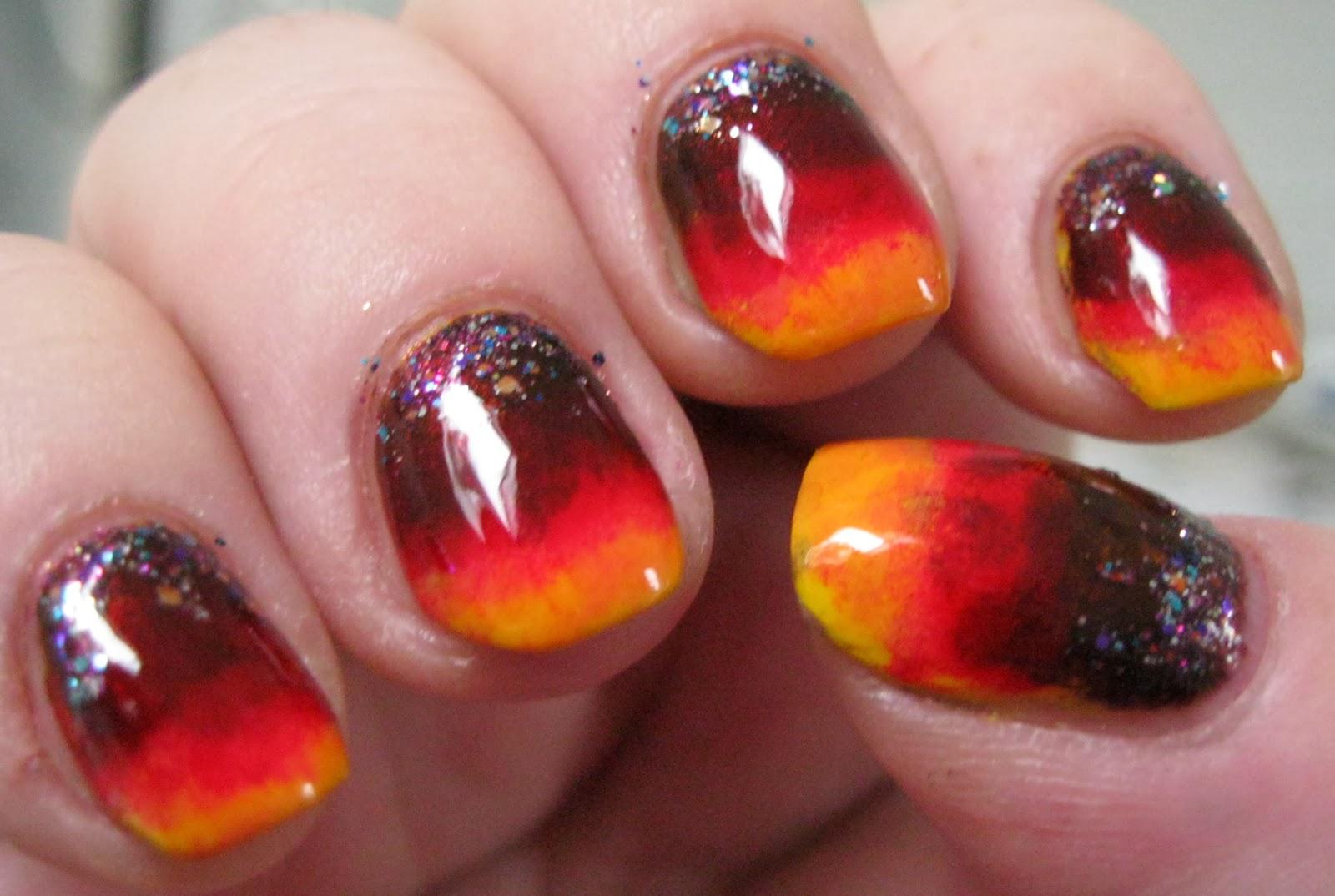 Lacquer Slacker Liz: Zoya Darcy and Fall Nail Art Fail Y\'all!