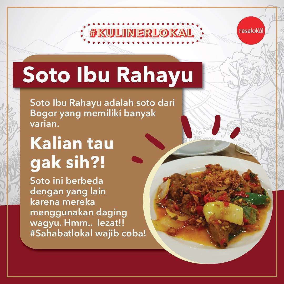 Soto Ibu Rahayu Bogor