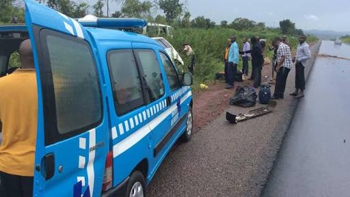 SAD! All Passengers Killed As Car Somersaults While Trying To Overtake On Abuja Road