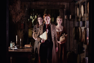 Zoe Boyle, Breanne Hill and Diana Bentley in Frontier Series (23)