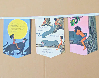 image the jungle book bunting domum vindemia mowgli disney