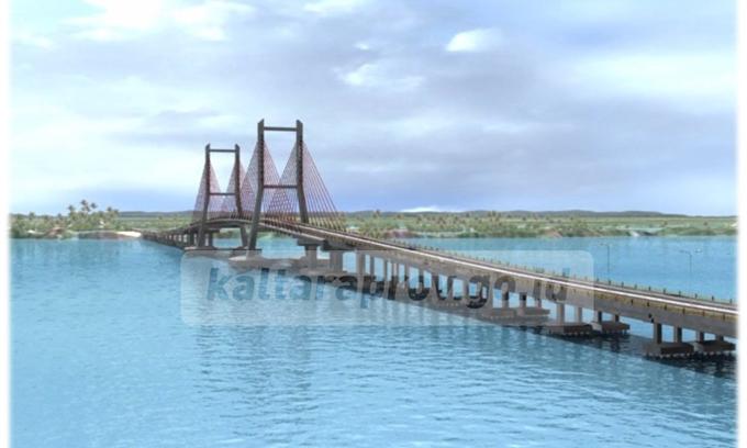 Pemprov Kaltara Optimis Wujudkan Jembatan Bulan