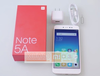 satu set xiaomi redmi note 5a