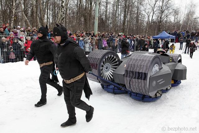 фестиваль необычных саней battle сани