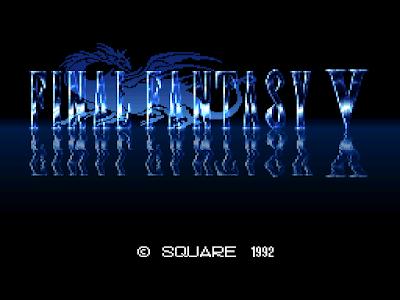 Final Fantasy V - Título RPG