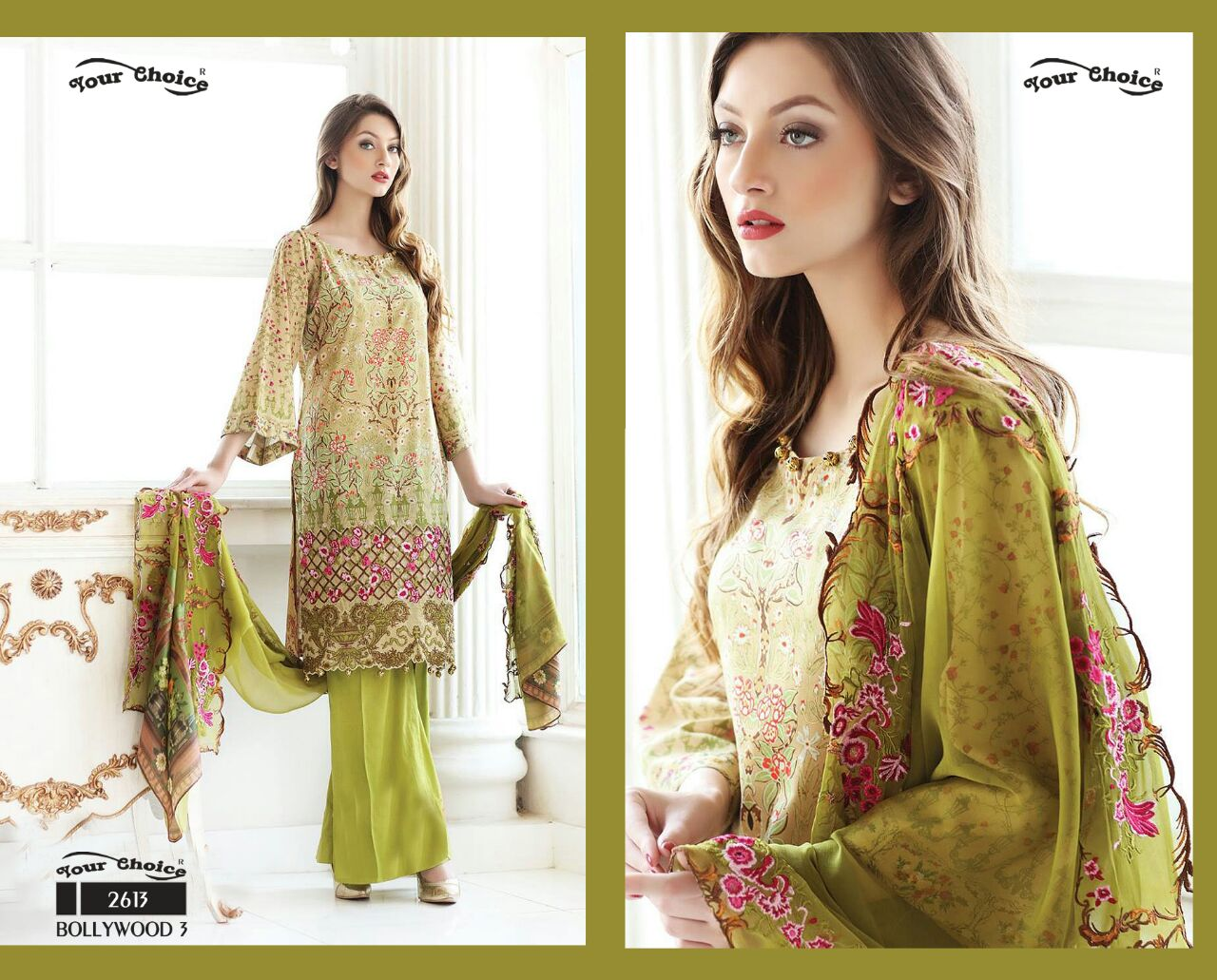 Bollywood 3 – Better And Best Quality Of Glass Cotton Salwar Kameez
