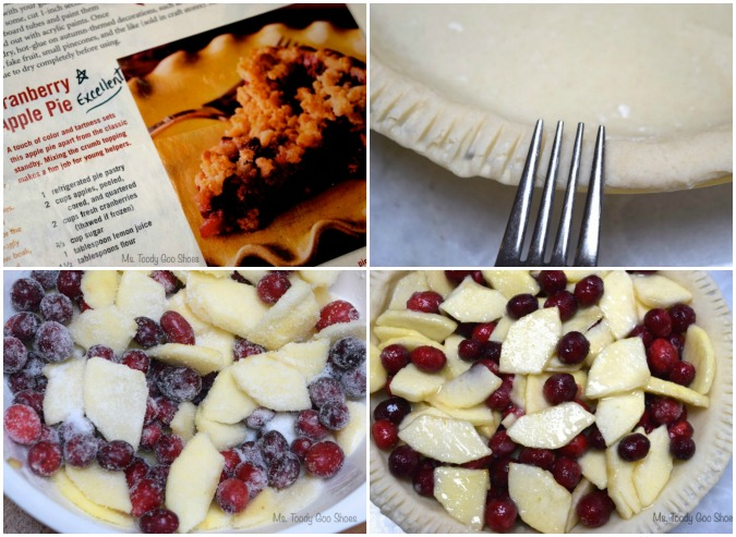 Cranberry Apple Pie - great dessert for #Thanksgiving - Ms. Toody Goo Shoes