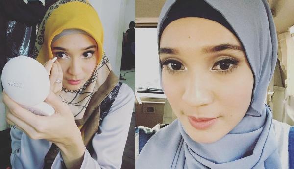Dhini Aminarti Hijab Pashmina