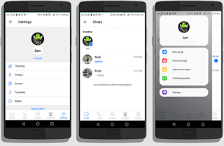 Aplikasi Whatsapp MOD Keren Mirip Instagram Terbaru 2019