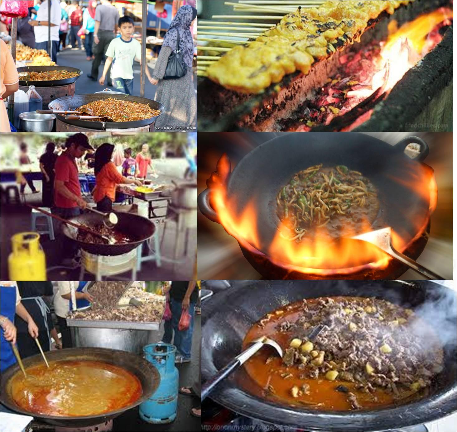 Osh The Journey Di Pasar Malam Pagi Dan Ramadan