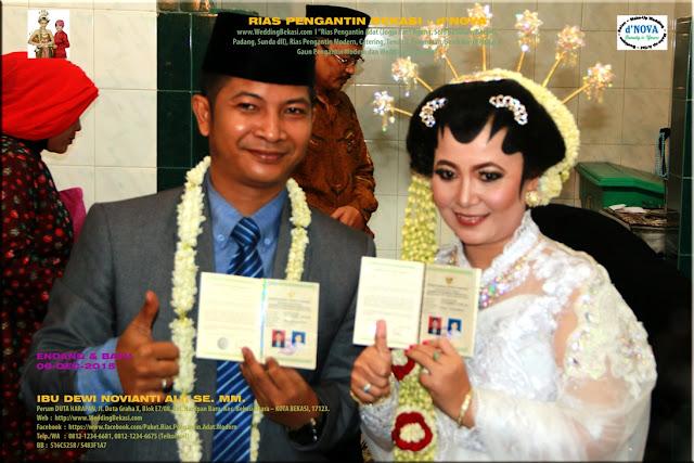 Rias Pengantin SOLO PUTRI - Sanggar Make Up Rias Pengantin Bekasi dNova Bekasi Utara - Endang & Bayu (1)