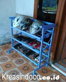 Harga Rak Sepatu Besi Murah Jabodetabek