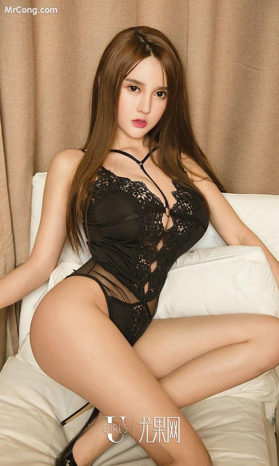 Image UGIRLS-Ai-You-Wu-App-No.1327-Bai-Yi-Han-MrCong.com-023 in post UGIRLS – Ai You Wu App No.1327: Người mẫu Bai Yi Han (白一晗) (35 ảnh)