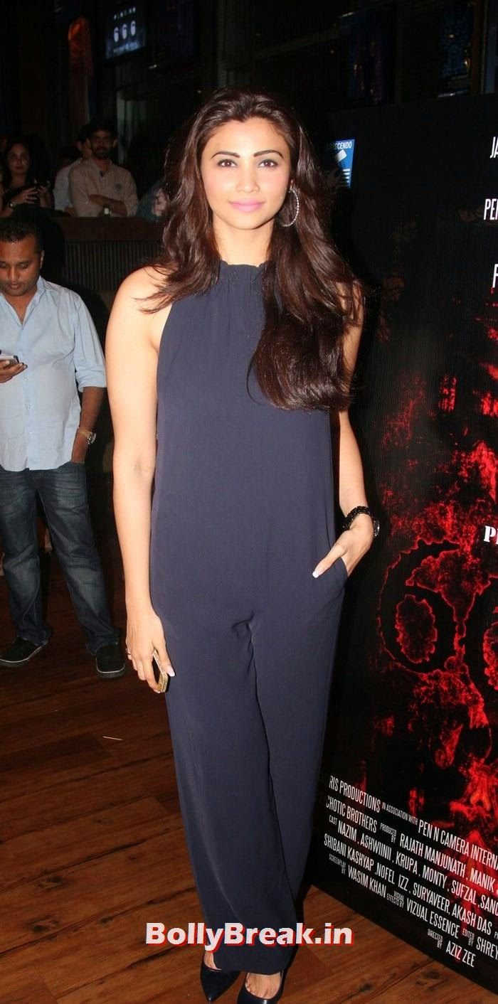 Daisy Shah, Daisy Shah, shibani Kashyap at Plot No 666 - Restricted Area Movie Music Launch