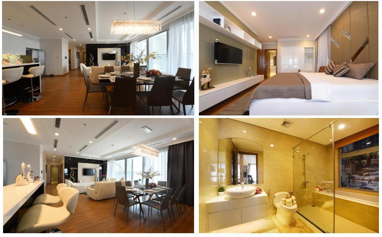 Không gian căn hộ cao cấp tại chung cư Mon Central 29 Láng Hạ