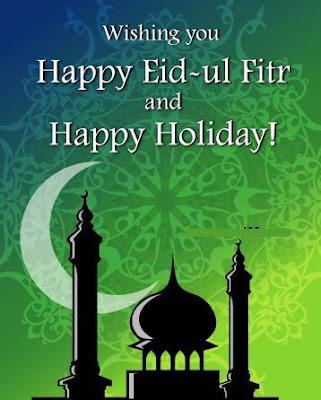 Happy Eid al Fitr Mubarak Greeting 2016