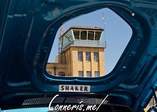 Dodge Challenger Shaker Hood Airport Tower