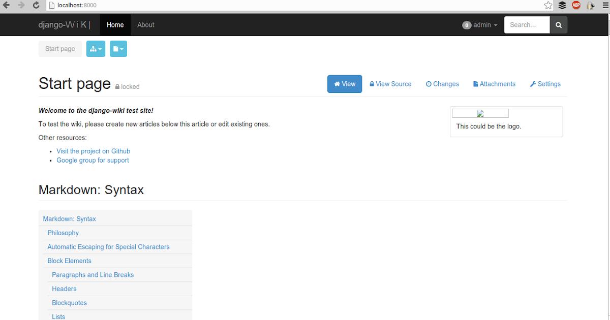 Django-wiki, an alternative for MindTouch enterprise wiki?