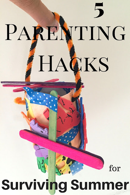 5 Parenting Hacks for Surviving Summer