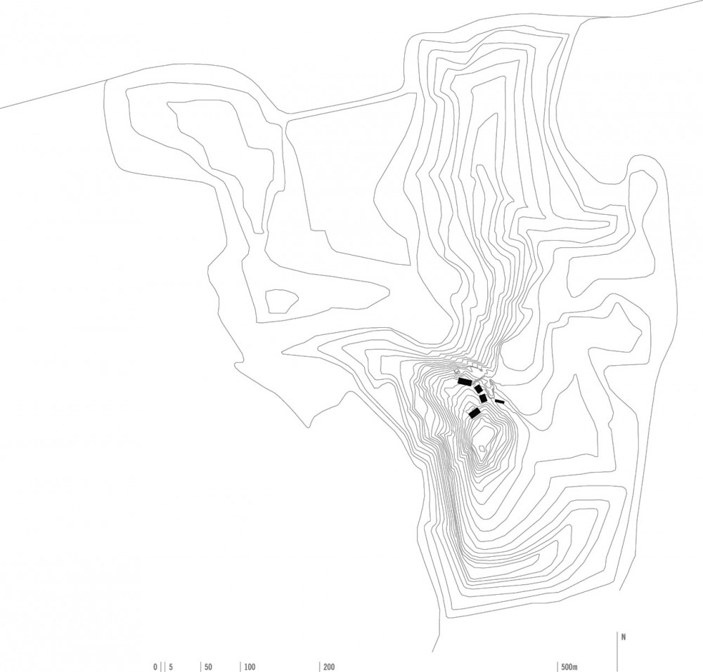 Situation plan drawing © courtesy of aires mateus arquitectos