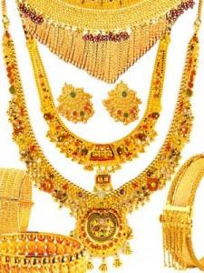 fashion blog Asian gold jewellery