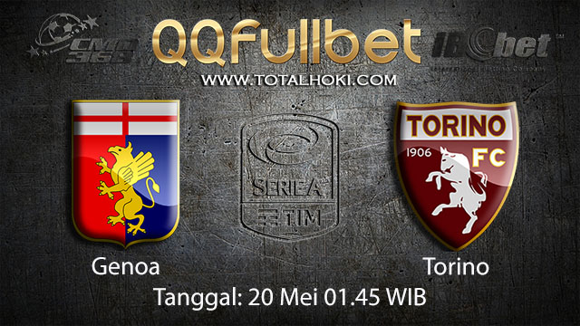 BOLA88 - PREDIKSI TARUHAN BOLA GENOA VS TORINO 20 MEI 2018 ( ITALIAN SERIE A )
