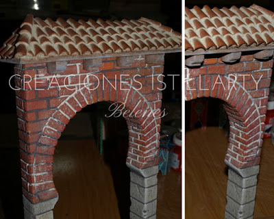 creaciones istillarty arco de herradura belen
