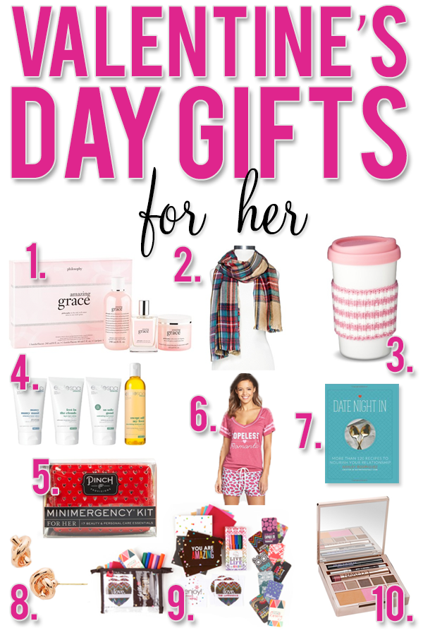 Over 30 Different Ideas For Valentineu0027s Day Gifts For Him, Her, Kids, Babies