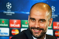 Head coach of Bavaria Josep Guardiola