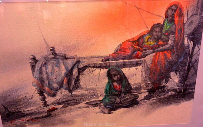 Ali Abbas Syed (Pakistan) - Traditional Woman of Thar Desert
