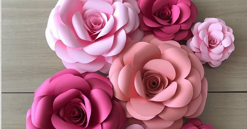 Flor Gigante Em Eva Flores De Papel