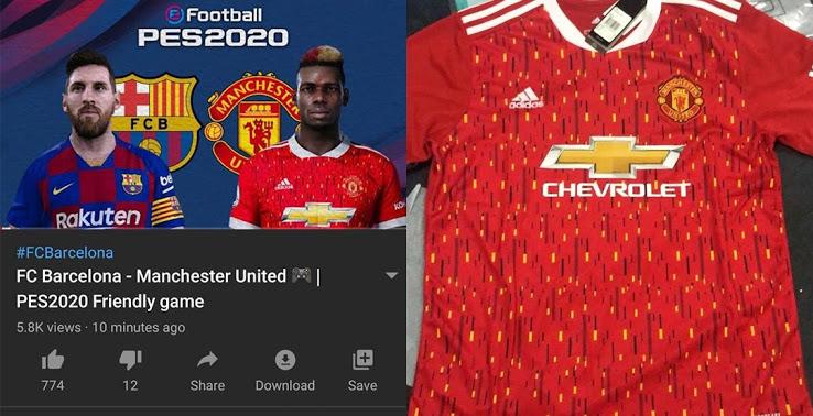 Leak Evolution Adidas Manchester United 20 21 Home Kit Footy Headlines
