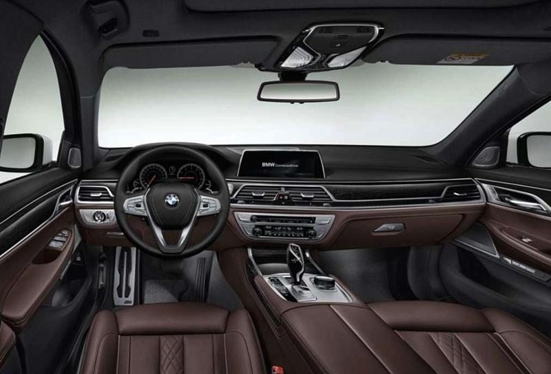 2019 BMW 7 Series interior design