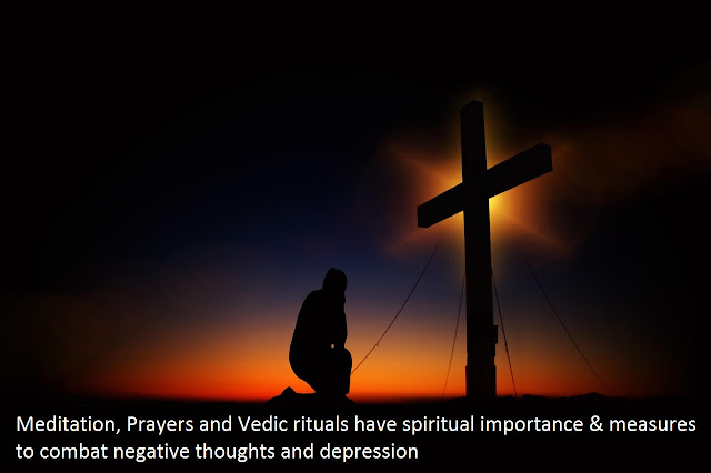 Prayers and Vedic rituals have spiritual importance