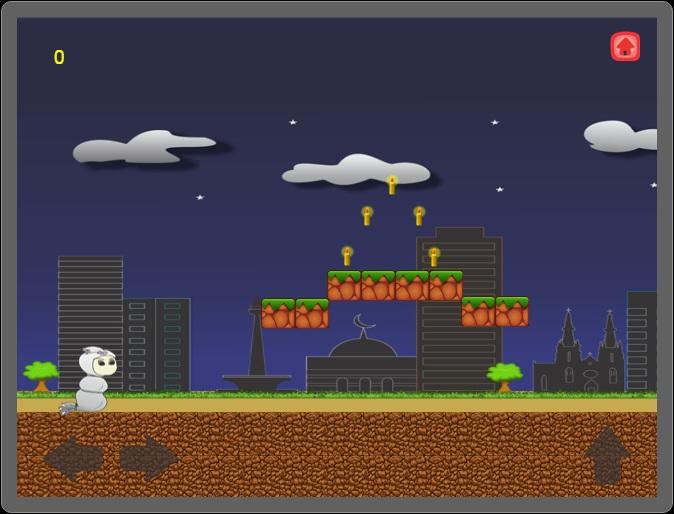 "Progres Game ""Candlelight Pocong"" ~ WebApps   Shav"