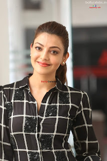 Beautiful Kajal Agarwal in Black Jump Suit Stunning Bollywood Actress bollycelebs.in Exclusive