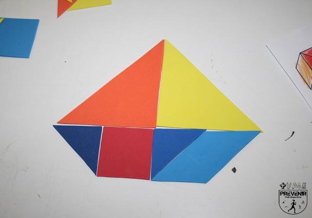 barco goma eva tangram niños